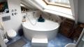 Badezimmer, praktische Stauflächen