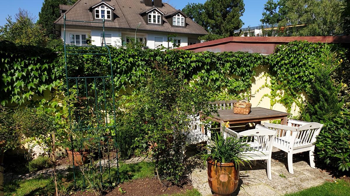 Sitzecke Garten